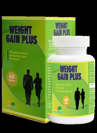 Weight Gain Plus-Bí Kíp Giúp Tăng Cân Cho Người Gầy