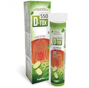 D-Tox 550 Trị hôi miệng Diệt sạch ký sinh trùng