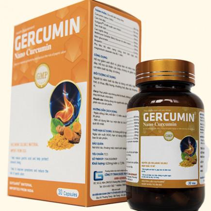 GERCUMIN - Sản phẩm cho người viêm loét dạ dày tá tràng